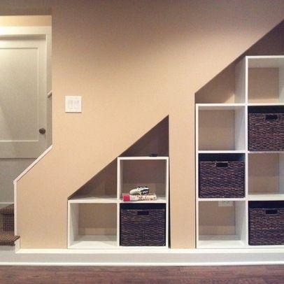 Basement Under Stairs Storage Ideas | under stair storage .