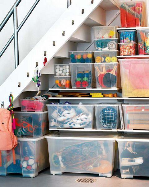 5 Basement Under Stairs Storage Ideas | Understairs storage .