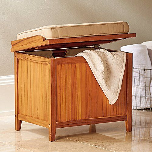 Bathroom bench seat storage | Storage bench seating, Bathroom .