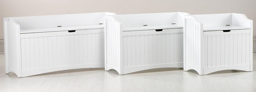 Corner Storage Bench, Window Seat Storage Bench White White .