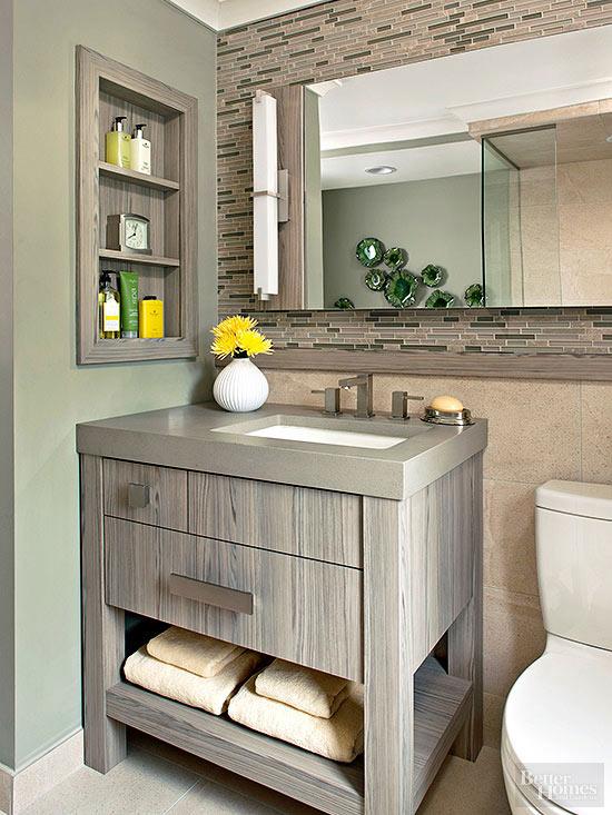 Small Bathroom Vanity Ideas | Better Homes & Garde