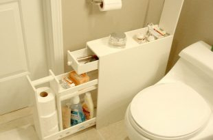 Bathroom Cabinet for Narrow Spaces | Bathroom floor cabinets .