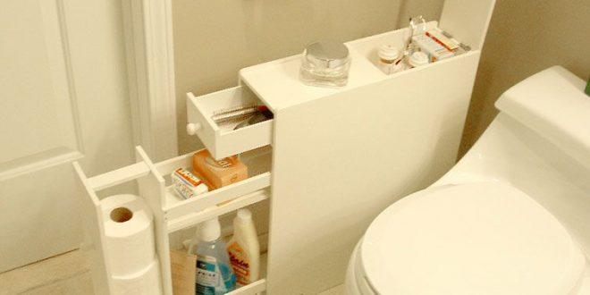 Bathroom Cabinet for Narrow Spaces | Bathroom floor cabinets .