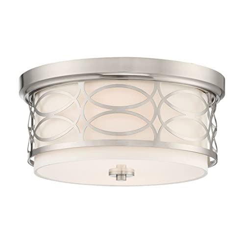 Bathroom Ceiling Light Fixtures In Brushed Nickel: Amazon.c