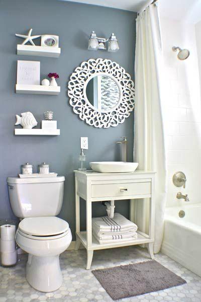 40 Stylish Small Bathroom Design Ideas | Bathroom design small .