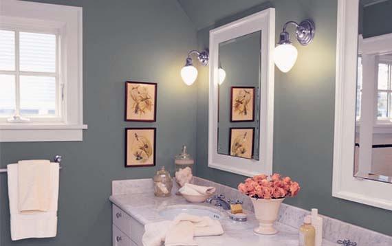Bathroom Color Schemes for Small Bathrooms - AyanaHou