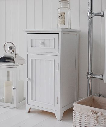 Bathroom Cupboards Freestanding White