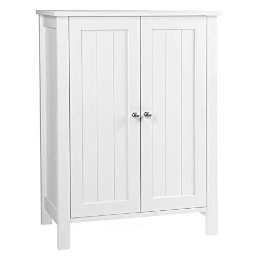 White Bathroom Storage Cabinets: Amazon.c