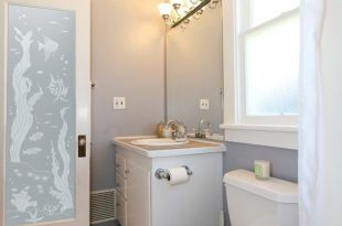 Beautiful frosted glass pattern for bathroom entry doors .