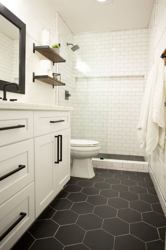 The Best Bathroom Flooring Ideas on a Budg