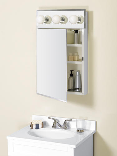Zenith Frameless Lighted Medicine Cabinet at Menards