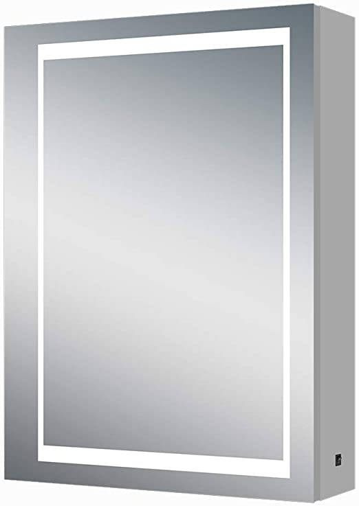 Amazon.com: Renewal Backlit Medicine Cabinet with Mirror for .