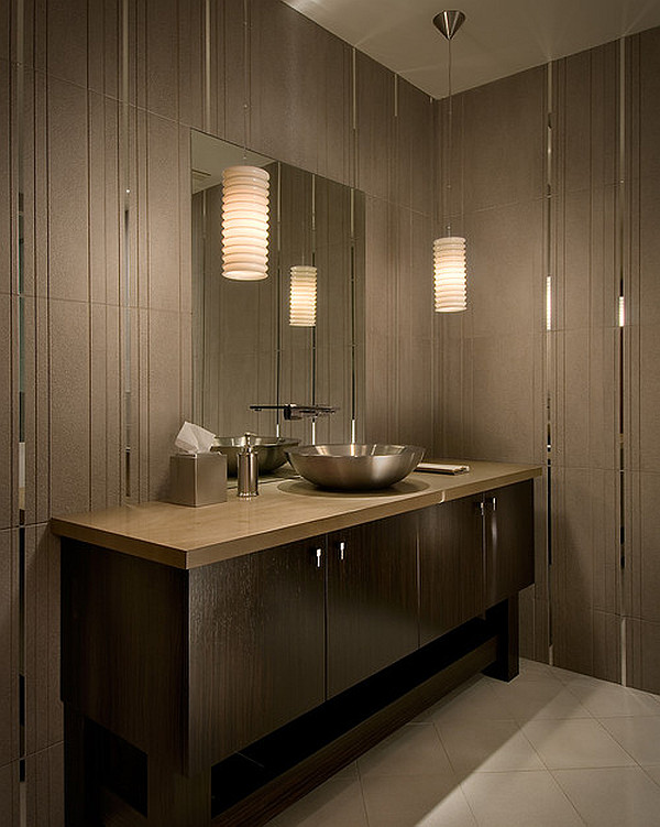 12 Beautiful Bathroom Lighting Ide