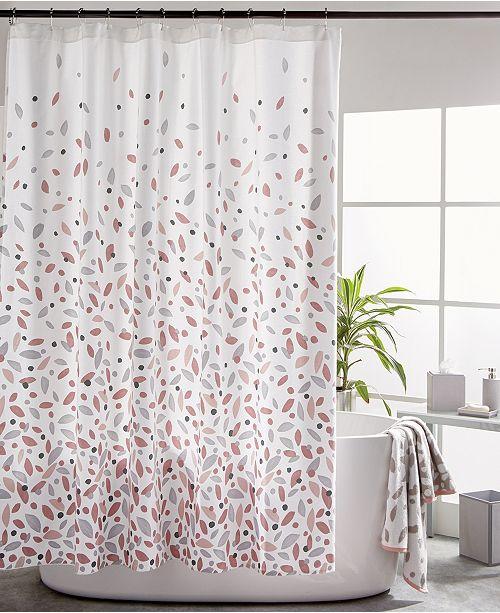 DKNY Petals 5-Pc. Bath Set & Reviews - Shower Curtains - Bed .