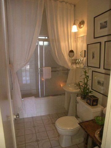Bathroom Decor Ideas: Luxurious Shower Curtains   Floor to ceiling .