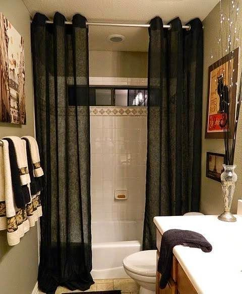 Bathroom Decorating Ideas With Shower Curtains .