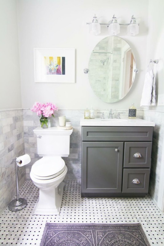 Great Bathroom Vanity Ideas For Small Bathrooms | L'Essenzia