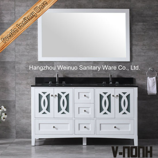 China Solid Wood Modern Style Bathroom Vanities with Tops and .
