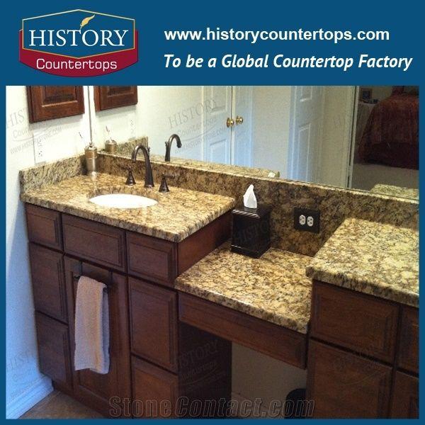 Custom Bathroom Vanity Tops with Sinks, Prefabricate Bathroom Tops .