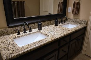 Looking for custom bathroom vanity tops with sinks in Atlant