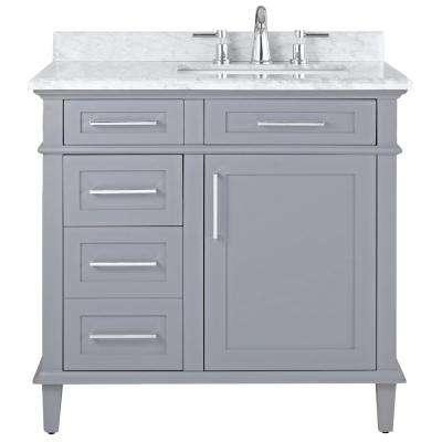 36 Inch Vanities - Bathroom Vanities with Tops - Bathroom Vanities .