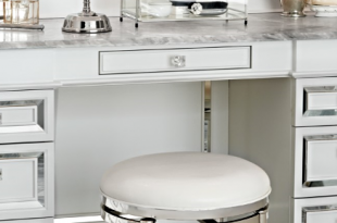 Bailey Swivel Vanity Stool (With images) | Bathroom vanity chair .