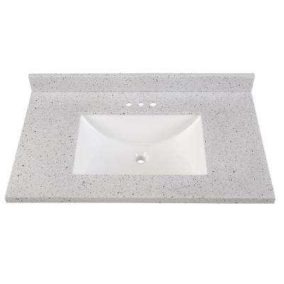 Bathroom Vanity Tops - Bathroom Vanities - The Home Dep