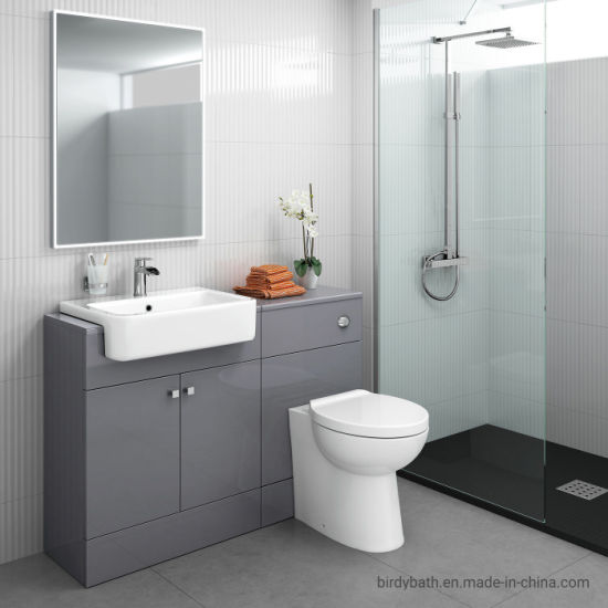 China Bathroom Toilet and Furniture Storage Vanity Unit Sink Basin .