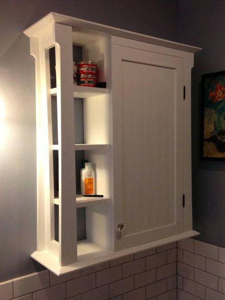 Bathroom wall cabinet …   Muebles para baños pequeñ