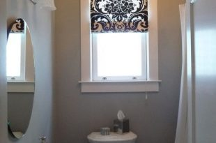 What type of bathroom window curtain designs looks good .