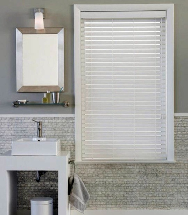 Blinds for bathroom windows – shutters and window decoration .