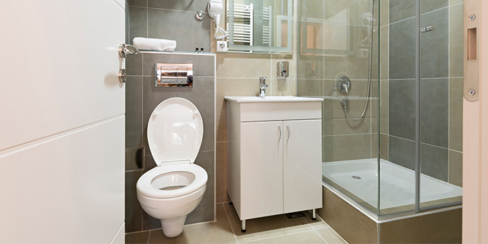 11 Space Saving Ideas for Your Small Bathroom | Budget Dumpst