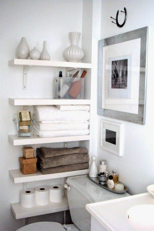 Genius Apartment Storage Ideas for Small Spaces | Tiny bathrooms .