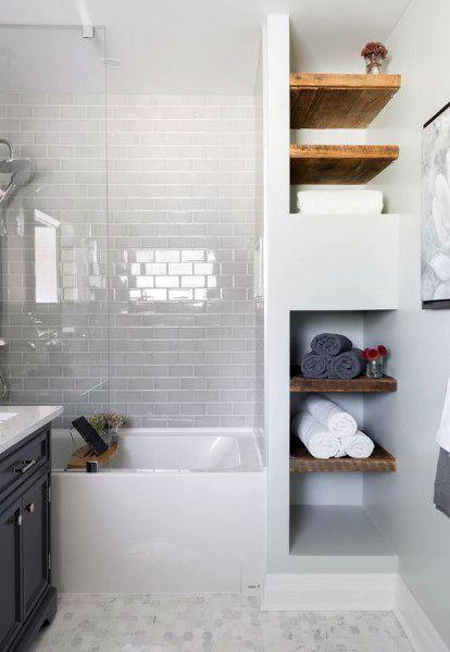Top 60 Best Bathtub Tile Ideas - Wall Surround Desig