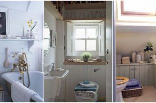 Small bathroom decorating ideas - Small spac