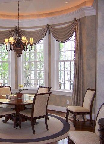 Design by Linda H. Bassert, Masterworks Window Fashions & Design .