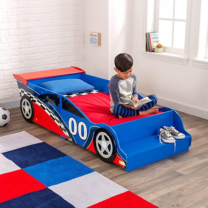 Amazon.com: Race Car Toddler Bed: Toys & Gam