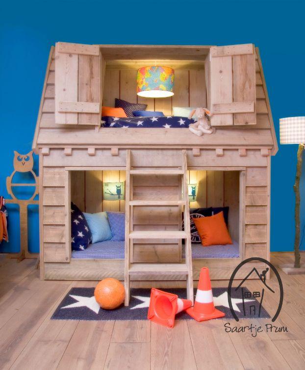10 Fabulous Boys' House Beds | Kid beds, Kids bunk beds, Bunk be
