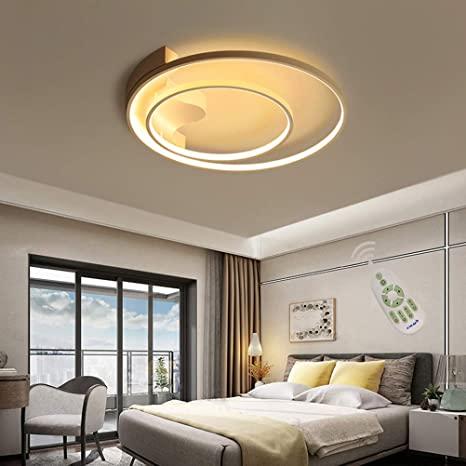 2 Ring Bedroom Light Dimmable LED Flush Mount Ceiling Light LED .
