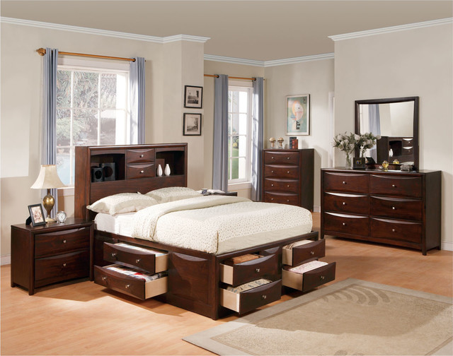Space Saving Rooms With Bedroom Furniture Sets With Storage .