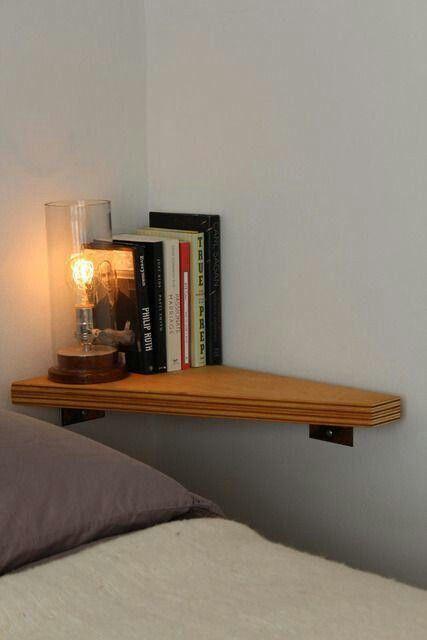 Bedroom Wall Storage Shelves Ideas