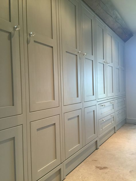 Farrow&ball pavilion grey, bespoke wardrobes (With images .