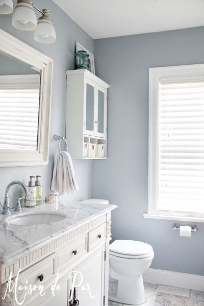 Popular Bathroom Paint Colors | Small bathroom, Upstairs bathrooms .
