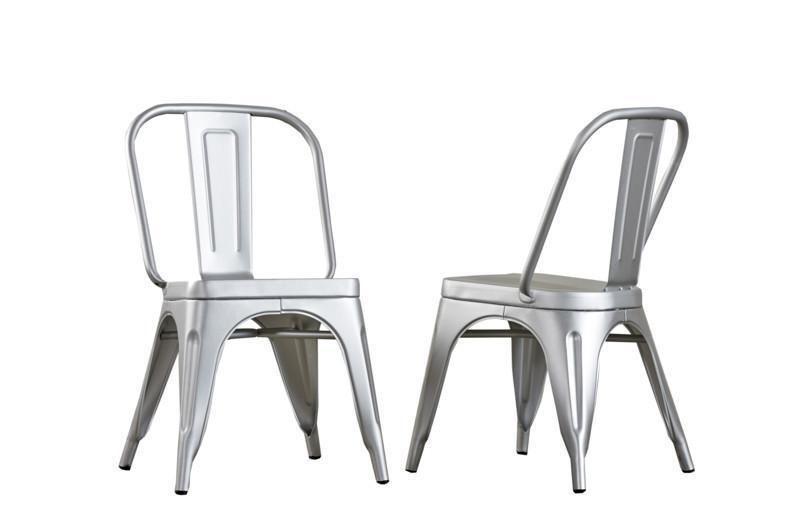 Dialma Brown Aluminium Chairs (Ex Display) | Chair, Best kitchen .