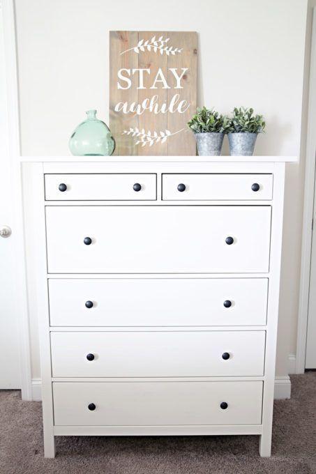 Best Hemnes Dresser | Ikea decor, Dresser styling, Hemn