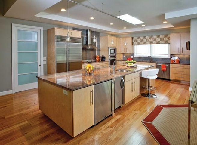 Stunning Ideas for Best Kitchen Colors with Oak Cabinets: Kitchen .