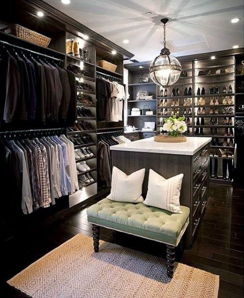 Top 100 Best Closet Designs For Men - Walk-In Wardrobe Ideas | Men .