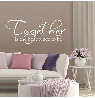 Big Savings for Together is the best place to be Wall Decal .