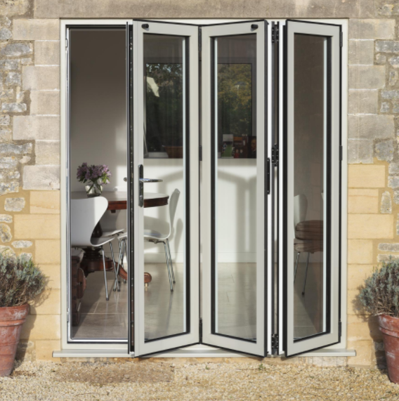 3 panel bi-fold door - specify style and size up to 3m wide x 2.5m .