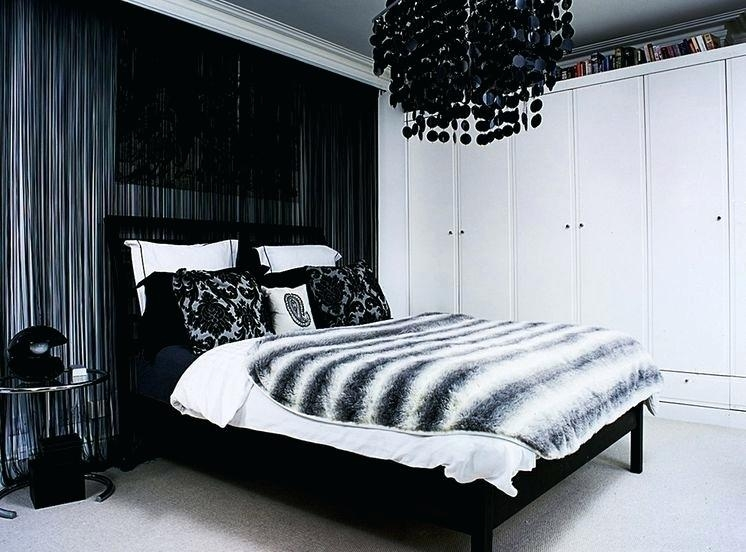 Black White Silver Bedroom Ideas Decorating – Saltandblu